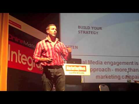 Eleftherios Hatziioannou speaking at Boussias Online Marketing Conference. (Part 3)