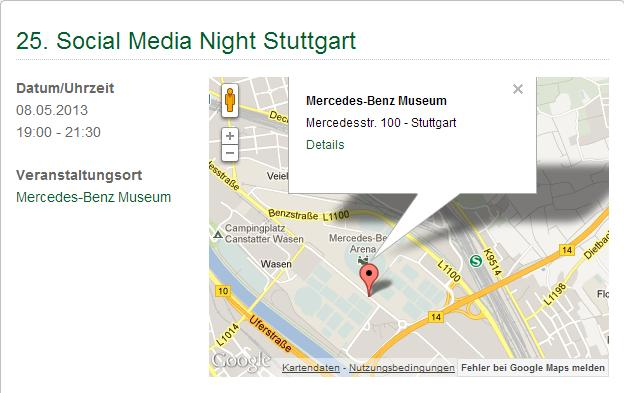 25th Social Media Night - Stuttgart